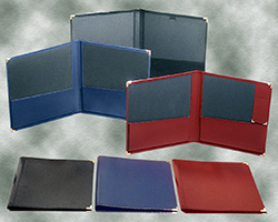 "Deluxe Leatherette Band Folders (12""x14"")"