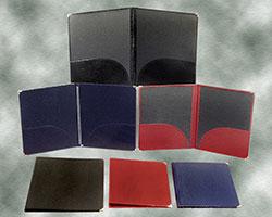 Leatherette Folders