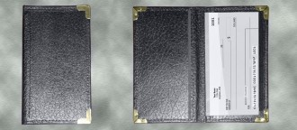 Standard Deluxe Checkbook Cover