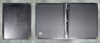"Business Folder With 1"" Ring Binder"